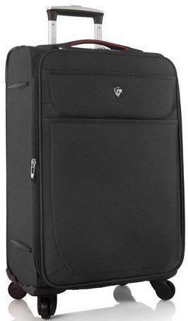 Замечательный 4-колесный чемодан из полиэстера 72 л. Heys Argus (M) Black 923100, черный
