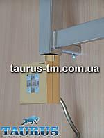 Золотой квадратный электроТЭН KTX2 gold: регулировка +таймер 2 ч. для полотенцесушителя, мощность 120 -1000Вт.