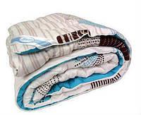 """Шерстяное одеяло в бязи, ТМ """"Лелека"""". Двуспальный  размер."""
