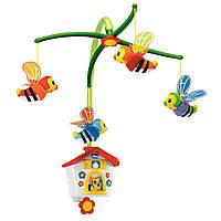 Игрушка на кроватку механическая Chicco Пчелиный домик