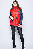 Женская куртка с накладным карманом №30