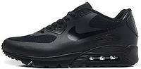 Мужские кроссовки Nike Air Max 90 Hyperfuse (найк аир макс 90) черные