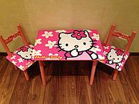 Детская мебель.Столик+2 стула.