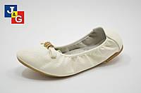 Туфли балетки для девочек подростков (31-36) ТМ. Jong Golf