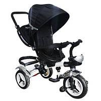 Детский трехколесный велосипед M 3200-8A (аналог Puky Cat S6), черный