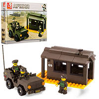 Конструктор Армия блок-пост M38-B6100 Sluban, 171 деталь