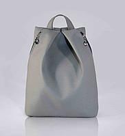 Стильный серый рюкзак код 9-25