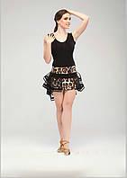 """Костюм для Латины: юбка """"Хьюстон""""(в наличии р.36)+блуза """"Альфа"""""""