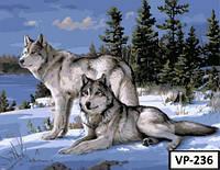Картина на холсте по номерам VP 236 40x50см