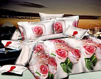 """Постельное белье """"Алые розы"""""""