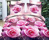 """Постельное белье """"3D розы 2"""""""
