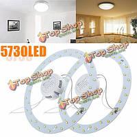 18w 36 LED белый / теплый белый круг панель кольцевой практичный эффективный потолочный светильник