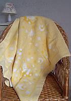 Детское одеяло байковое Сонные зверюшки 90х100