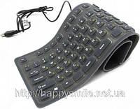 USB гибкая резинова клавиатура, фото 1