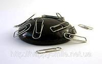 Умный пластилин Черный, Handgum, магнитный 80г – полезная и занимательная игрушка, жвачка для рук, фото 1
