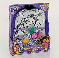 Рюкзак раскраска для детского творчества
