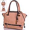 Креативная сумка-трансформер из качественного кожезаменителя GUSSACI (ГУССАЧИ) TUGUS13A060-3-12  (бежевый)
