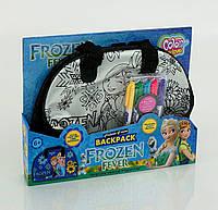 Сумочка детская раскраска Фроузен