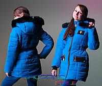 Детское зимнее пальто Лео