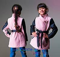 Детское кашемировое полупальто для девочки Косушка