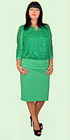 Женское нарядное платье (разные цвета) больших размеров 52-62