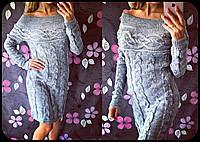 Вязаное платье Тифани, фото 1