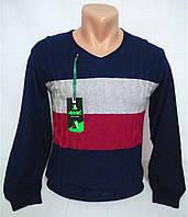 Пуловер вязаный для подростка 12-15 лет