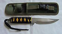 Нож метательный в камуфлированном чехле