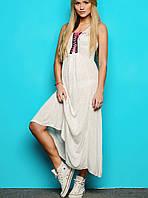 Длинное легкое платье | 2045 sk