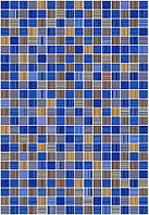 Плитка облицовочная Керамин Гламур 2Т голуб. (275х400)