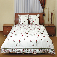 Комплект постельного белья Теп Бутон розы красной двуспальный