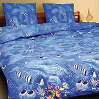 Комплект постельного белья Теп Аквариум двуспальный
