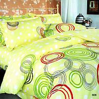 Комплект постельного белья Теп Круги цветные двуспальный