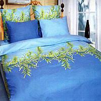 Комплект постельного белья Теп Ландыши голубые двуспальный