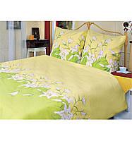 Комплект постельного белья Теп Лилия зеленая двуспальный