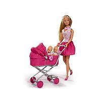Кукла Штеффи Лав, - С коляской и детьми