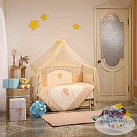 Детский постельный комплект Tiny Love (Шоколадный, 7 элементов), Маленькая Соня