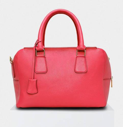 Трендовая кожаная сумка со съемным ремешком CHEMIRE Fidelitti 004/530/Lu красный