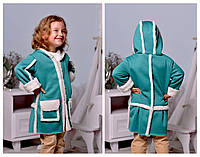 Детское пальто на девочку № 2112 е.в
