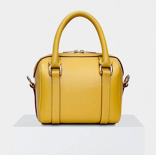 Шикарная сумка желтого цвета натуральная кожа SIERA Fidelitti 038/180/Т жёлтый
