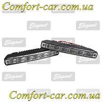 Дневные ходовые огни Elegant Compact 100 244 (6LED, 2*6 Вт.)