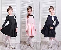 Детское коттоновое платье мод.211 (р.128-146)