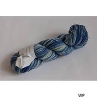 Кауни Blue-white 800 Пряжа из 100% овечьей шерсти подходит для ручного вязания рукоделия