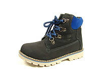 Детские ботинки для мальчика J&G TS-C-1273-0 (Размеры: 32-37)