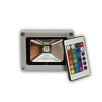 Светодиодный прожектор для наружного применения 10Вт RGB Premium