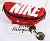 Компактная спортивная сумка на пояс Nike Team Training 142, красный