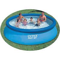 Бассейн надувной INTEX (366*76 см) 28130 (56420) Easy Set Pool