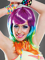 Карнавальный парик разноцветный