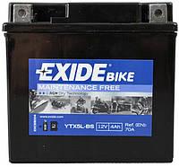 Мото аккумулятор Exide ETX5L-BS = YTX5L-BS