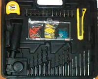 Дрель Crafttec PXT218B 650 Вт Кейс+набор инструментов